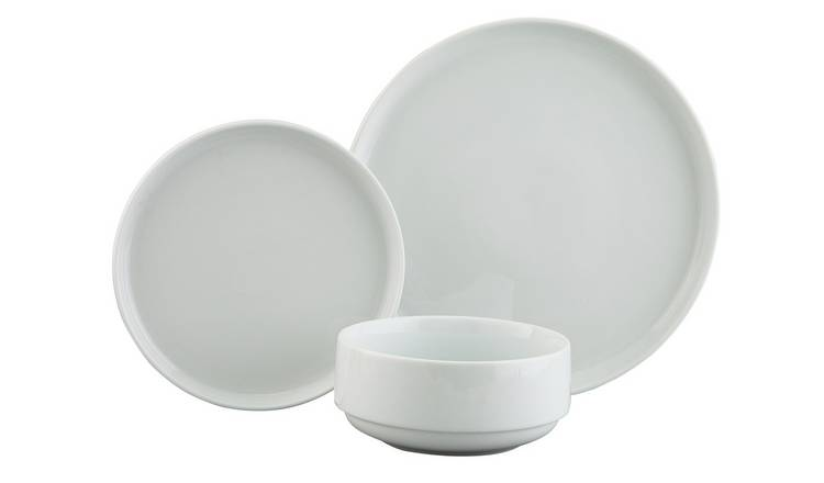 Argos Home Everyday Luxury Porcelain 12 Piece Dinner Set