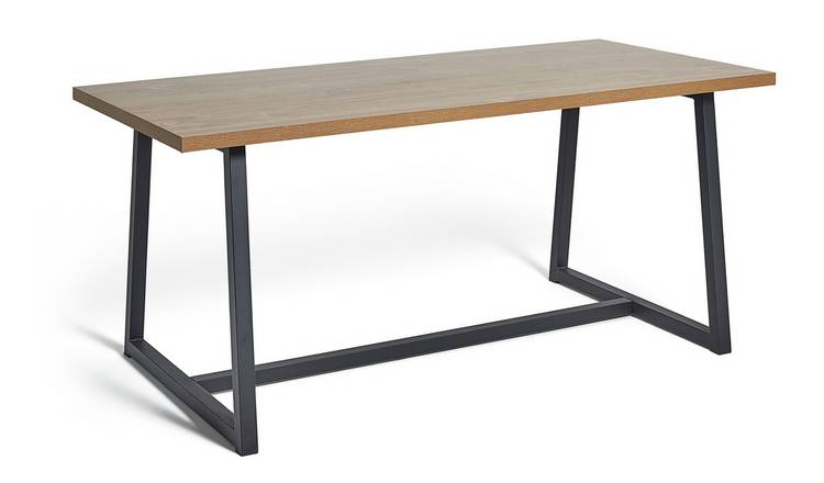 Habitat Nomad 160cm Dining Table - Oak Effect
