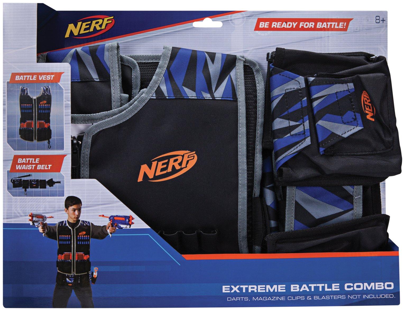 Nerf Ultimate Battle Vest and Belt