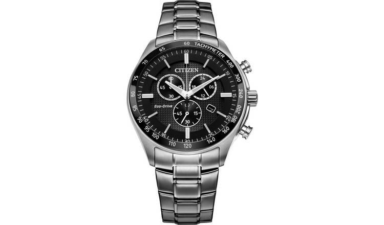 83a76c04b Buy Citizen Men's Eco-Drive Black Chronograph Watch | Men's ...