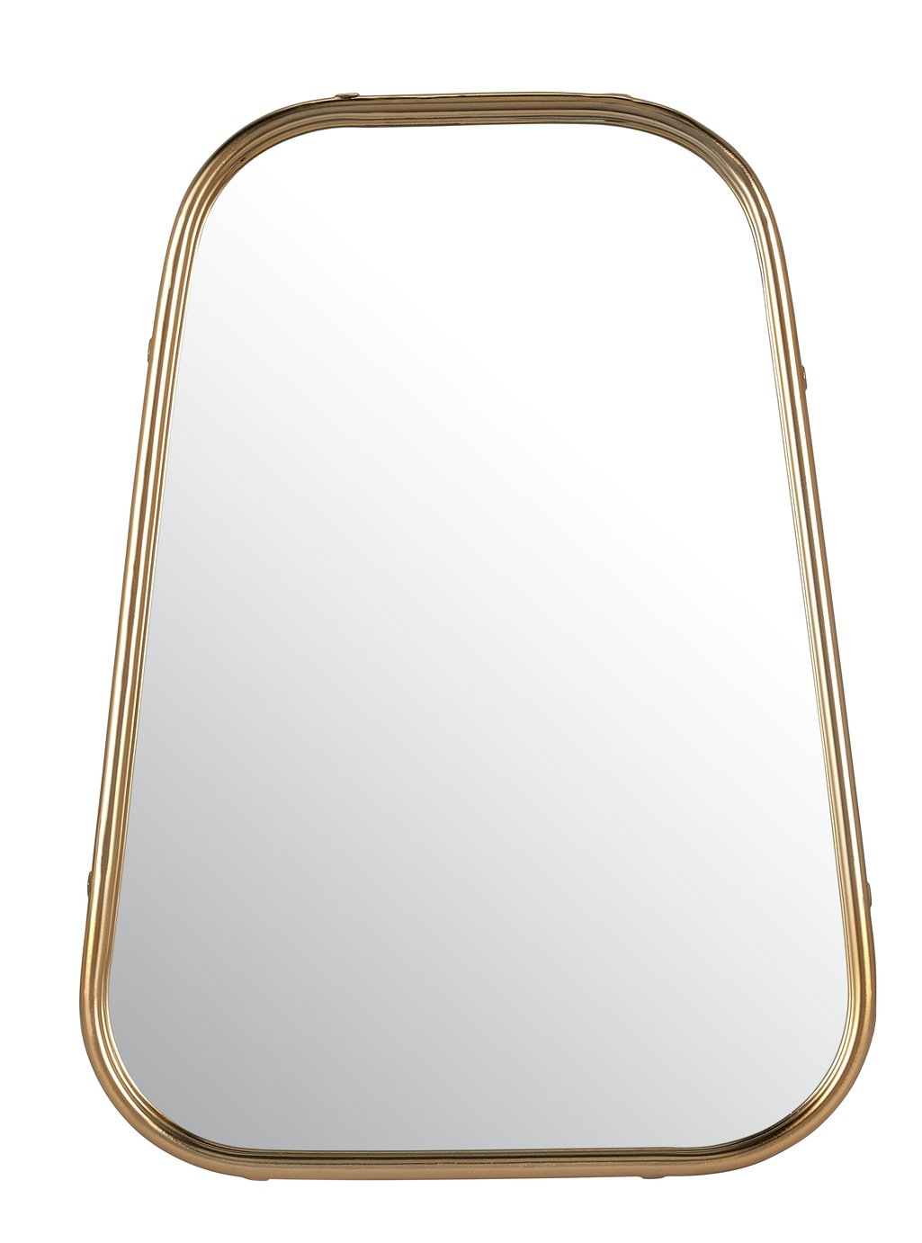 Argos Home Gold Banded Wall Mirror