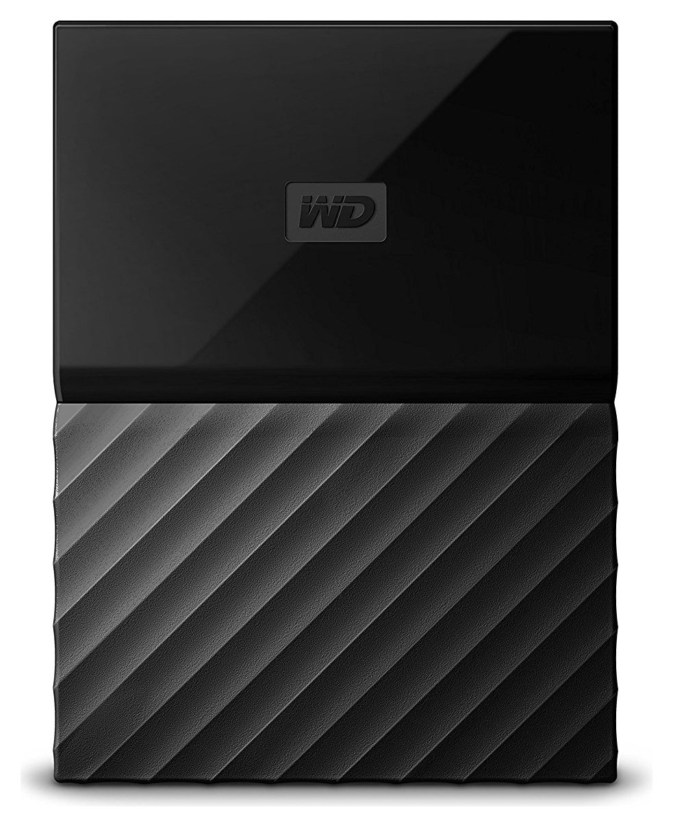 WD My Passport 1TB Portable Hard Drive - Black