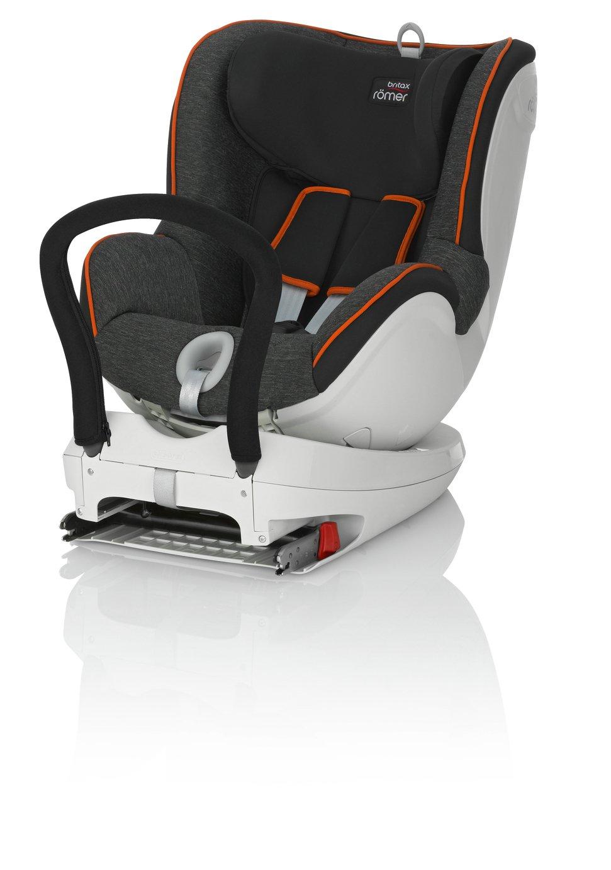 Britax Romer DUALFIX Group 0+/1 Car Seat - Black Marble