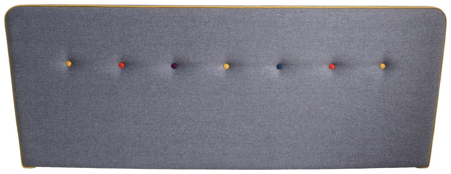 Image of Airsprung Cohen Superking Headboard - Grey
