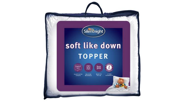 Silentnight Soft Like Down Mattress Topper - Single