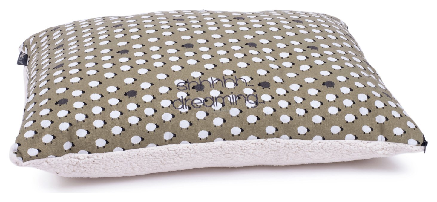 Petface Medium Pillow Mattress - Sheep