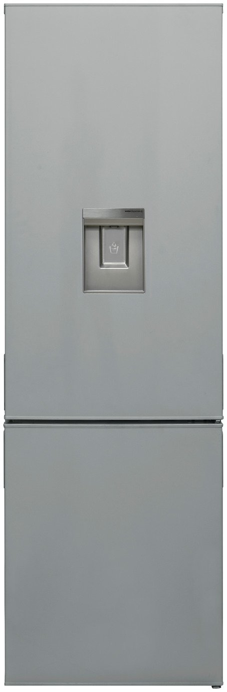 Bush F54180FFWTDS Fridge Freezer - Silver Best Price, Cheapest Prices