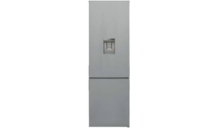 Bush F54180FFWTDS Fridge Freezer - Silver