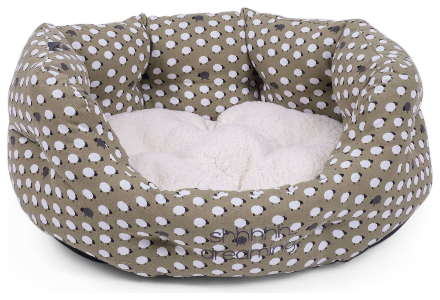Petface Sheep Oval Bed - Extra Large