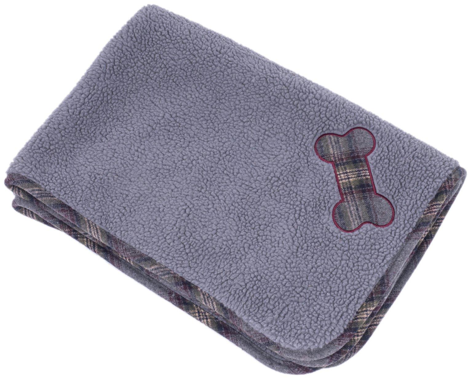 Petface Comforter - Grey Tweed