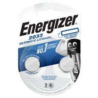 Energizer Ultimate Lithium 2032 Batteries - Pack of 2