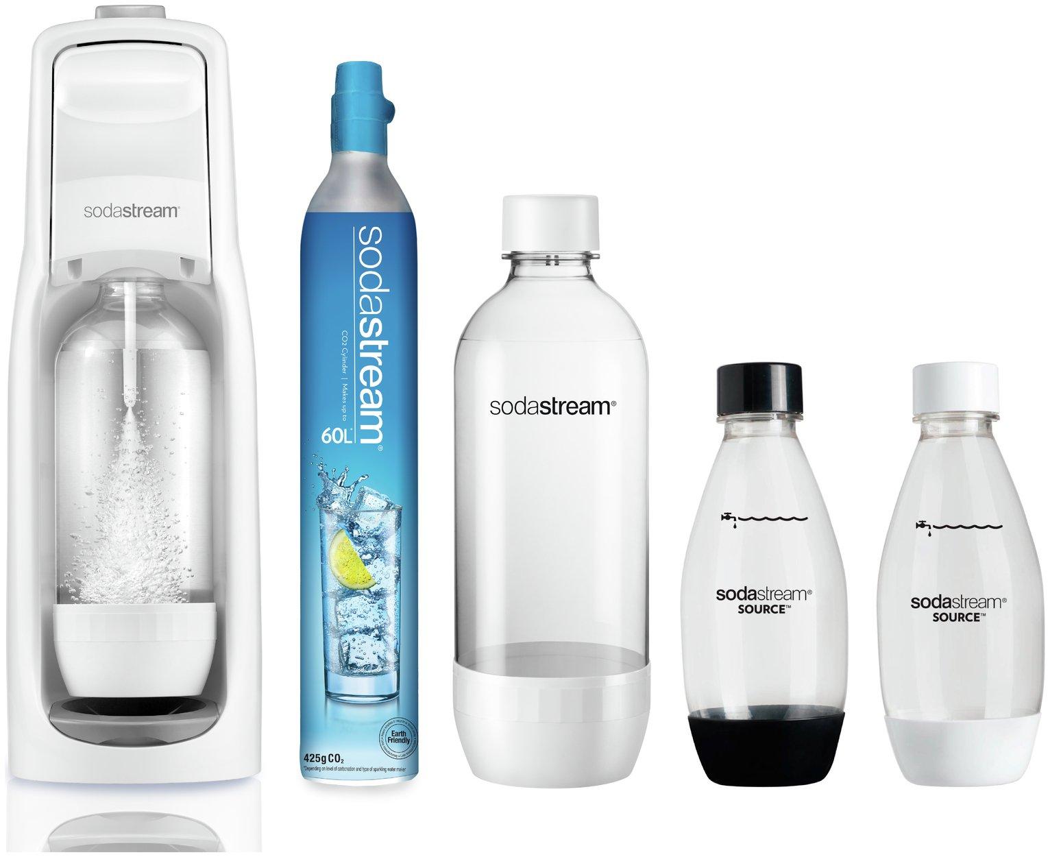 Sodastream Jet White Megapack Bundle