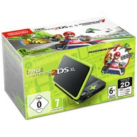 Nintendo 2DS XL Console with Mario Kart 7 - Black / Green