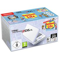 Nintendo 2DS XL Console with Tomodachi - White / Lavender