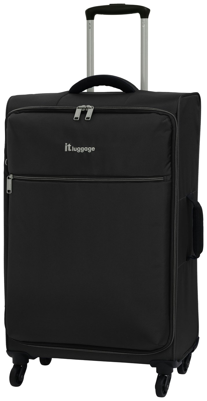 it Luggage The LITE Medium 4 Wheel Soft Suitcase - Black