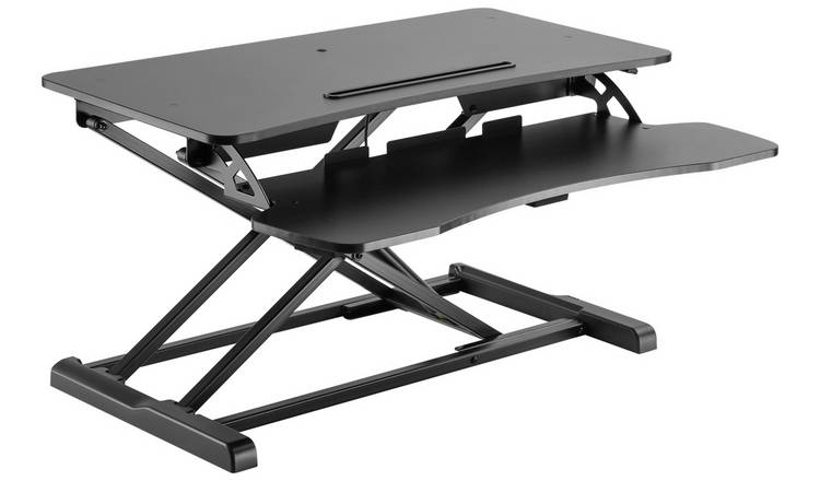 Proper Sit Stand Workstation 2 Tier - BLK
