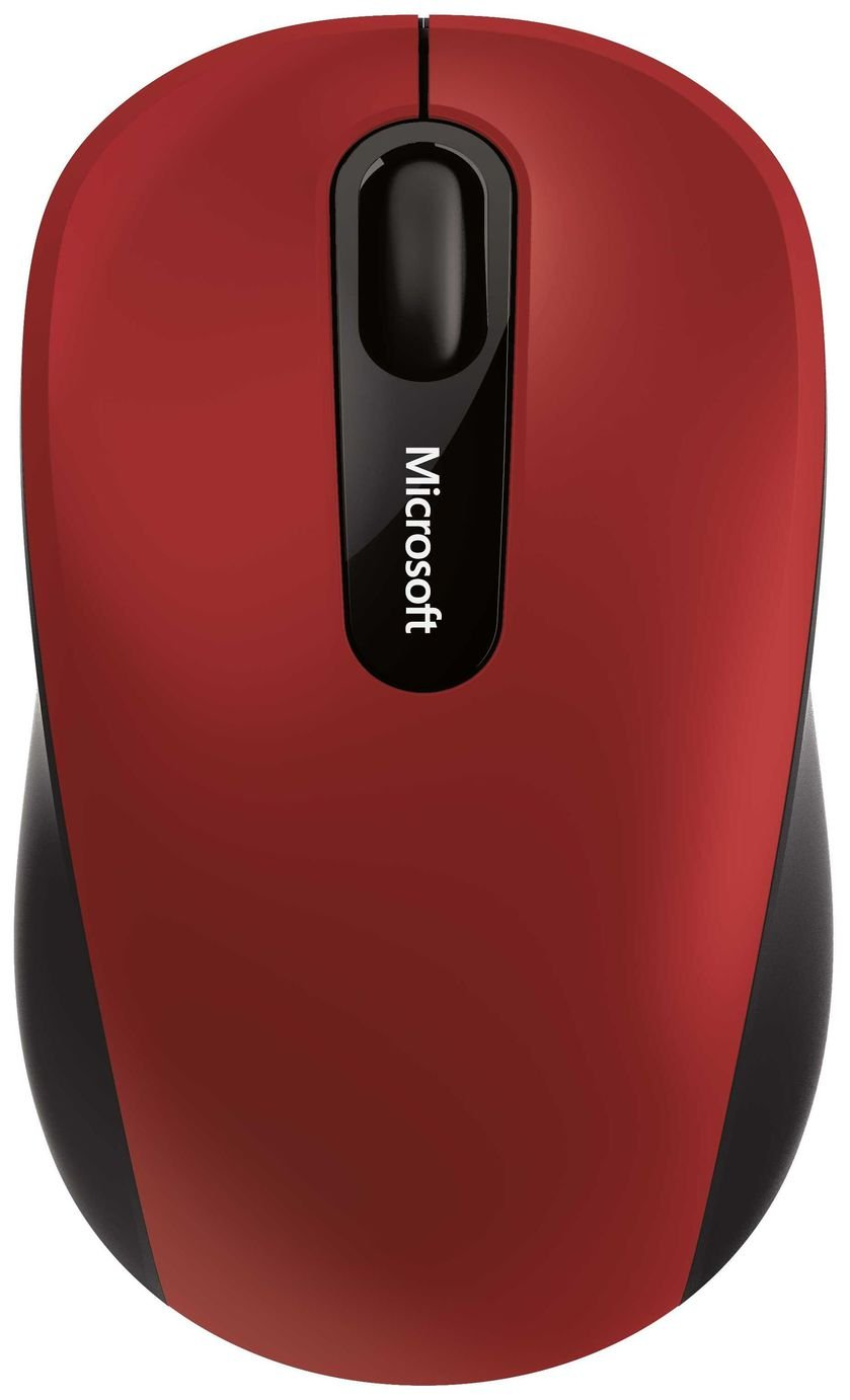 Microsoft 3600 Bluetooth Mouse - Red