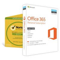 Microsoft Office 365 Personal & Norton Security 3 Devices