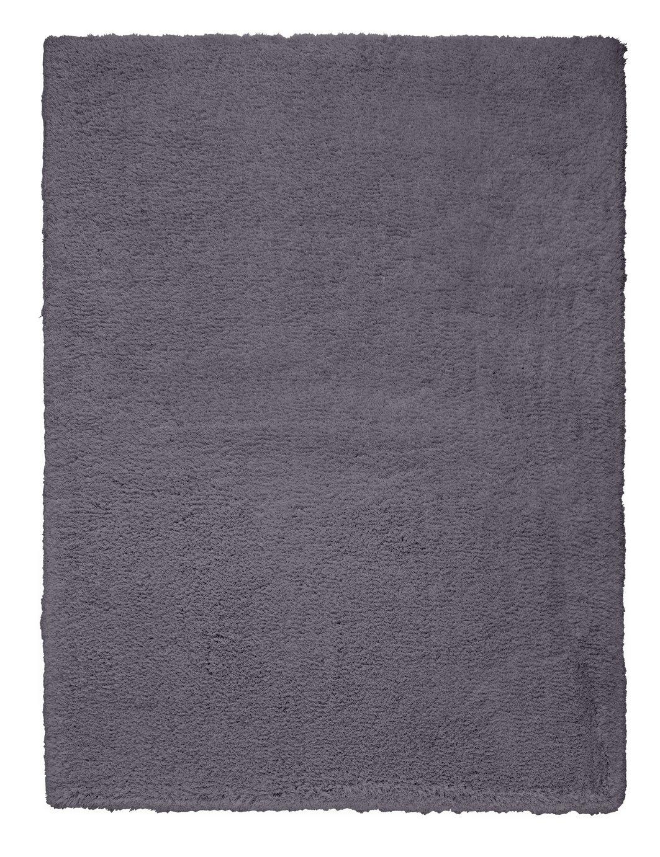Argos Home Snuggle Shaggy Rug - 160x120cm - Flint Grey