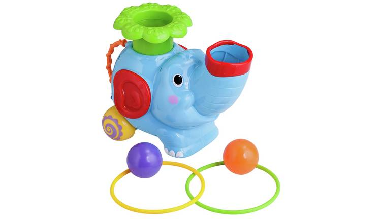 Chad Valley Ball Pop Elephant