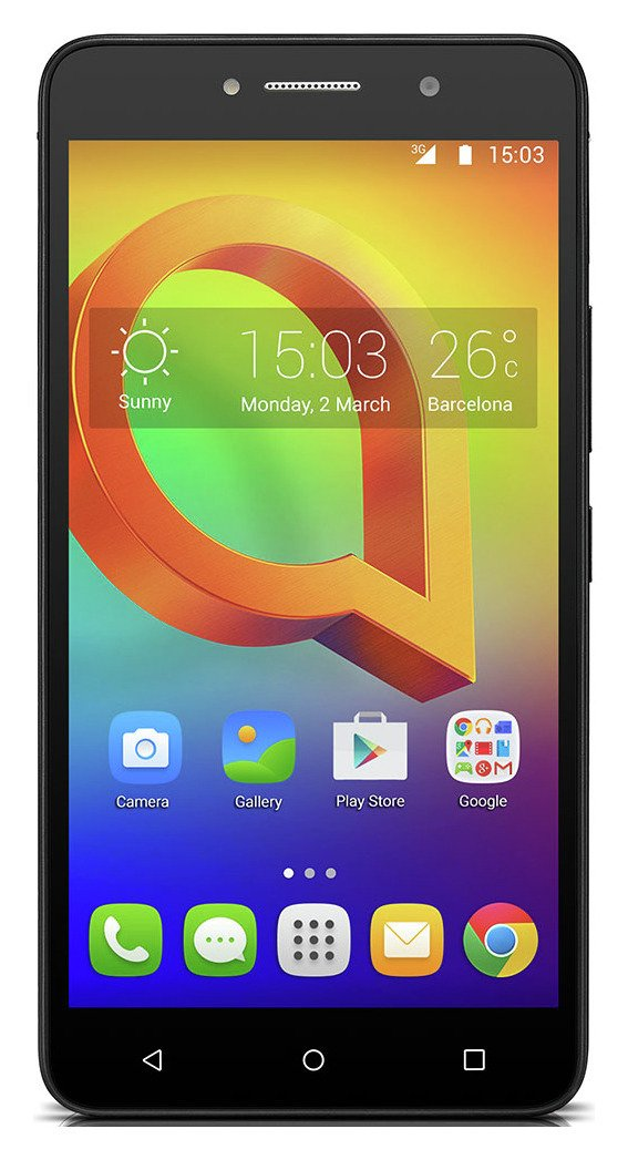 Image of Alcatel A2 XL Sim Free Mobile Phone - Gold / Black