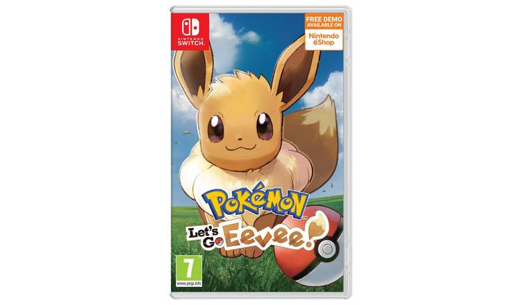 Pokemon: Let's Go Eevee! Nintendo Switch Game