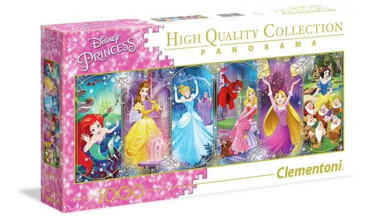 Disney Princess Panorama Puzzle - 1000 piece