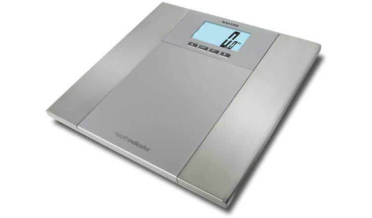 Salter Health Indicator Body Analyser Scale - Silver