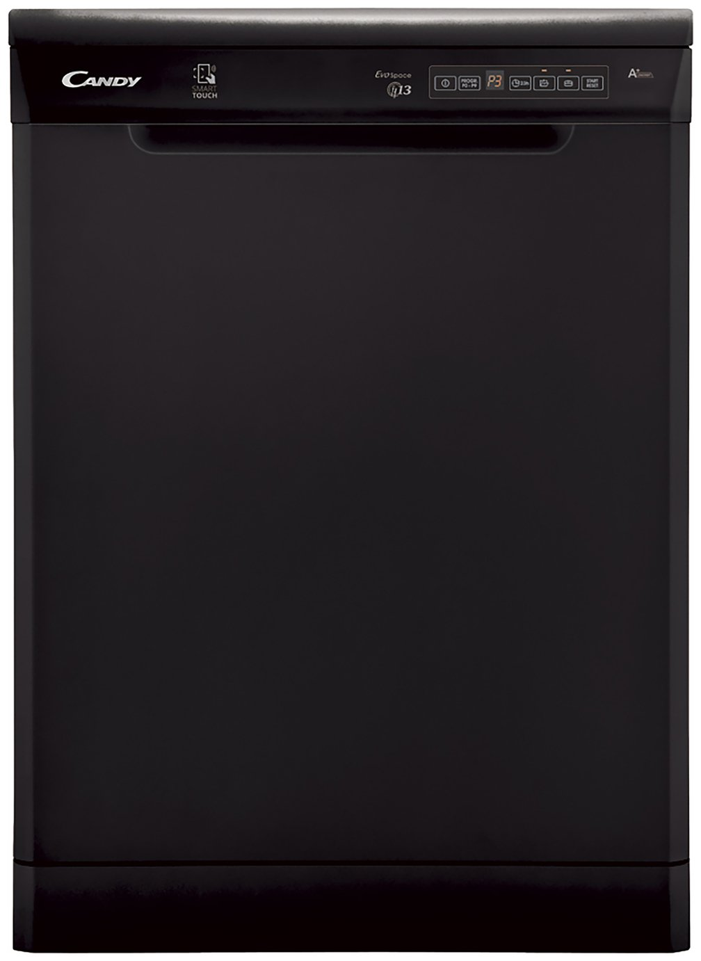 Candy CDP 1DS39B Full Size Dishwasher - Black