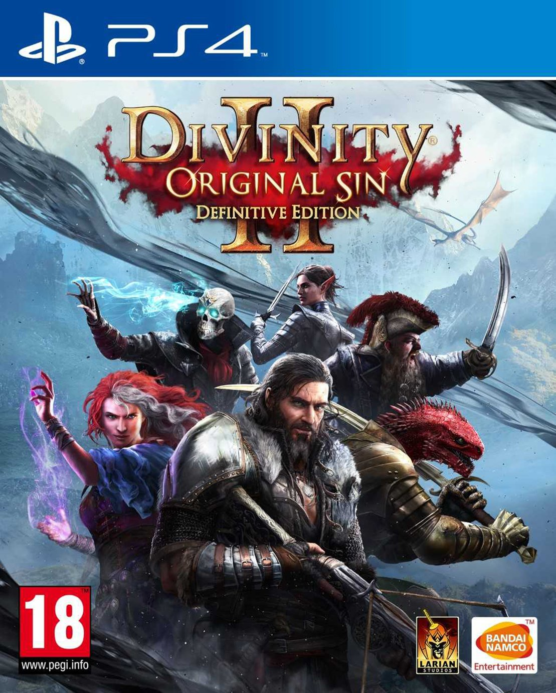 Divinity: Original Sin 2 Definitive Edn PS4 Game