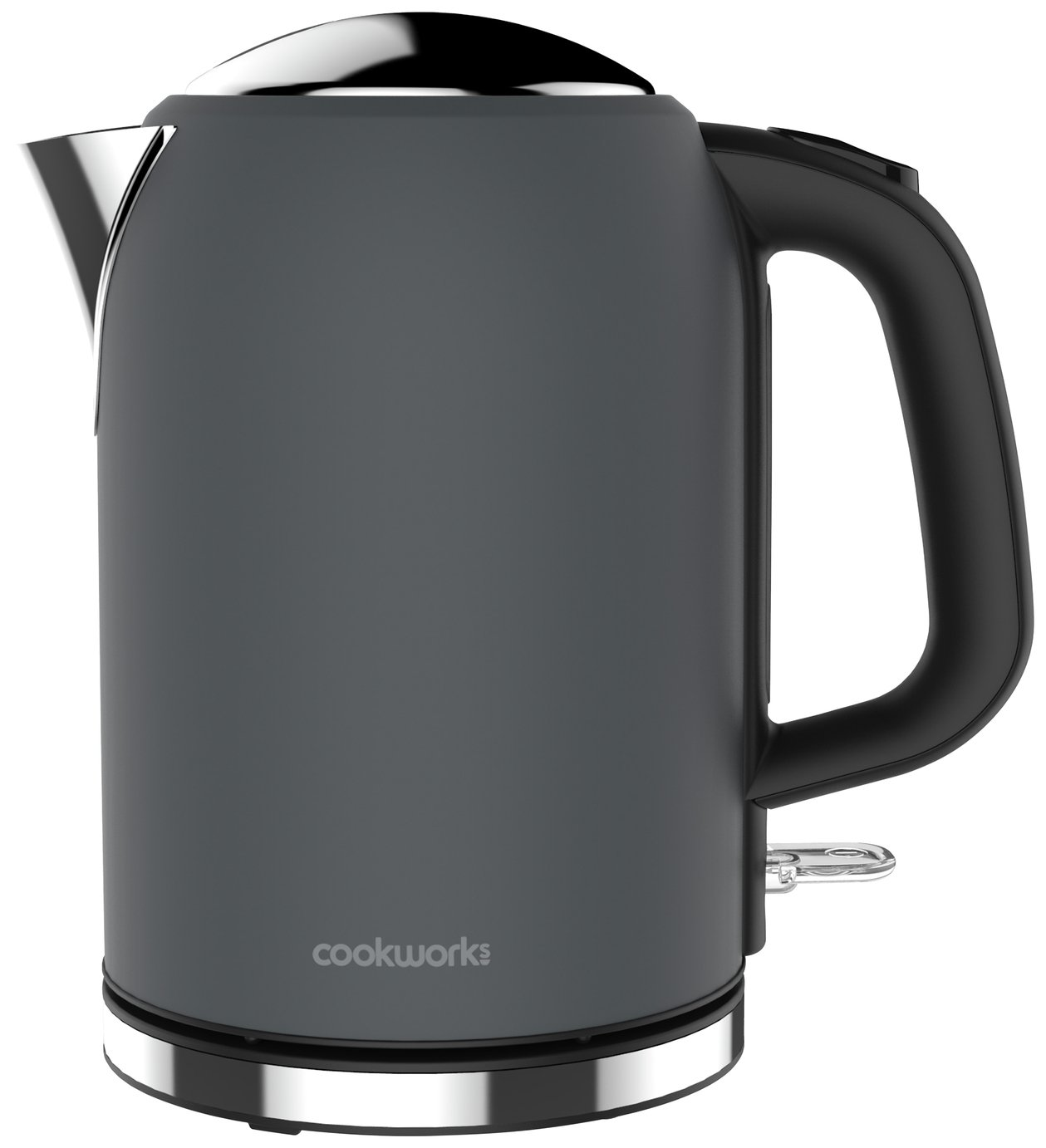 Cookworks Bullet Kettle - Grey