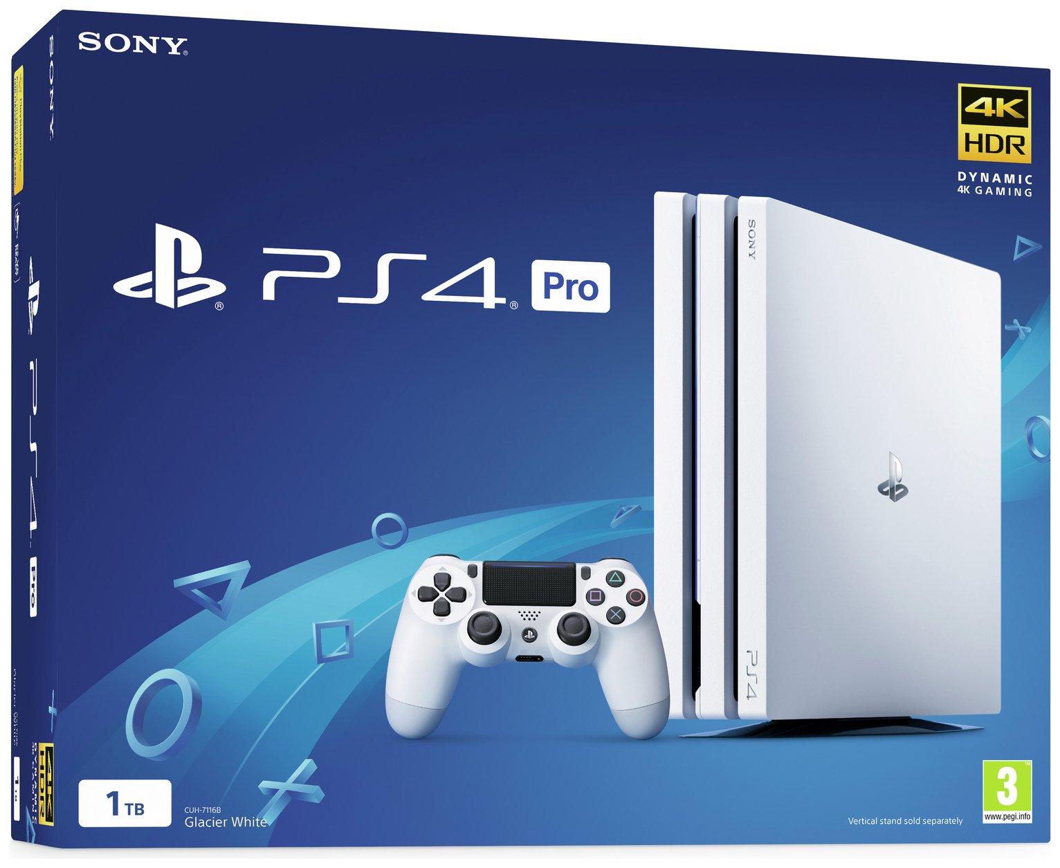 'Sony Ps4 Pro 1tb Console - White