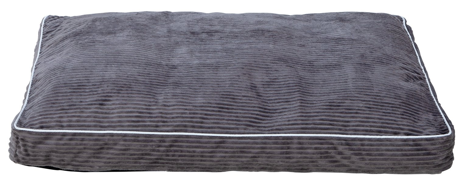 Grey Cord Pet Mattress - Large