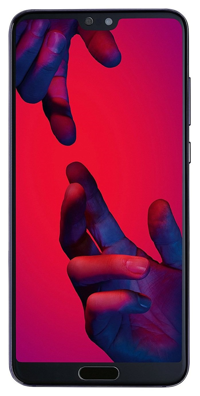 SIM Free Huawei P20 Pro 128GB Mobile Phone - Twilight