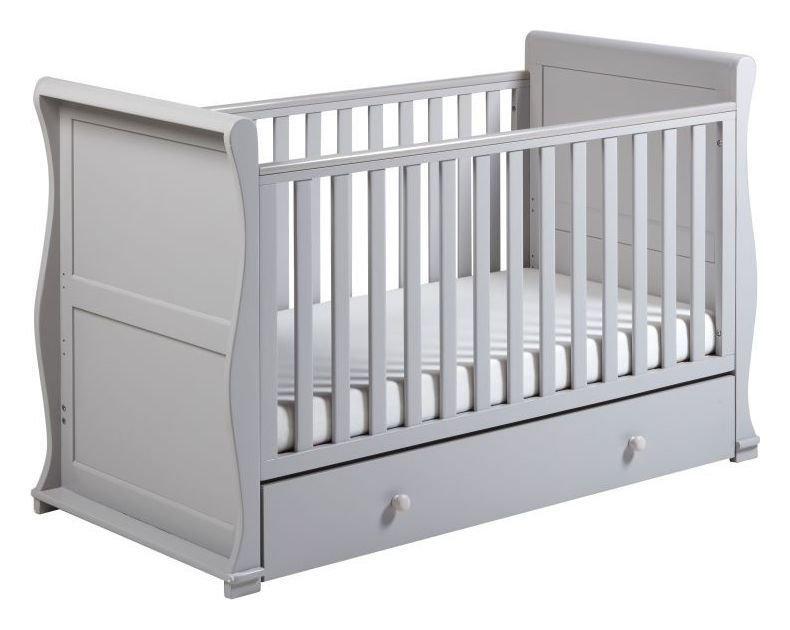 Alaska Cot Bed - Grey