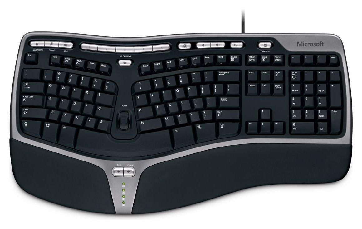 Microsoft 4000 Ergonomic Wired Keyboard