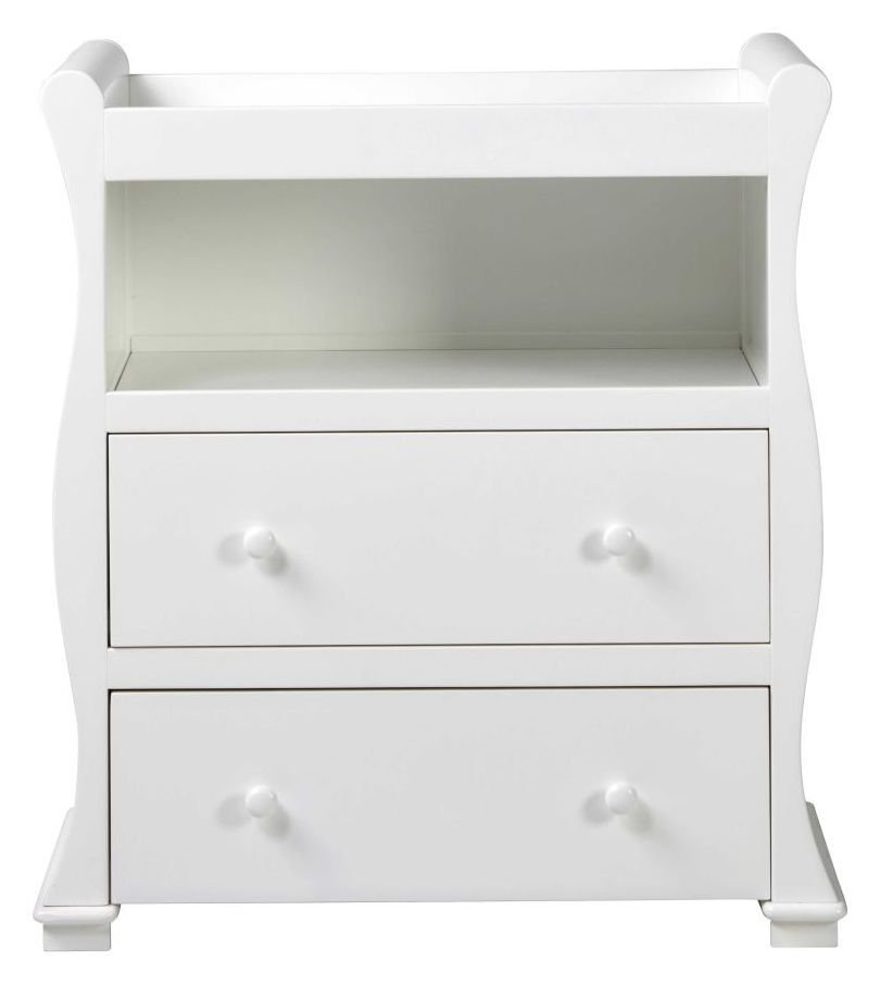 Image of Alaska Nursery Dresser - White