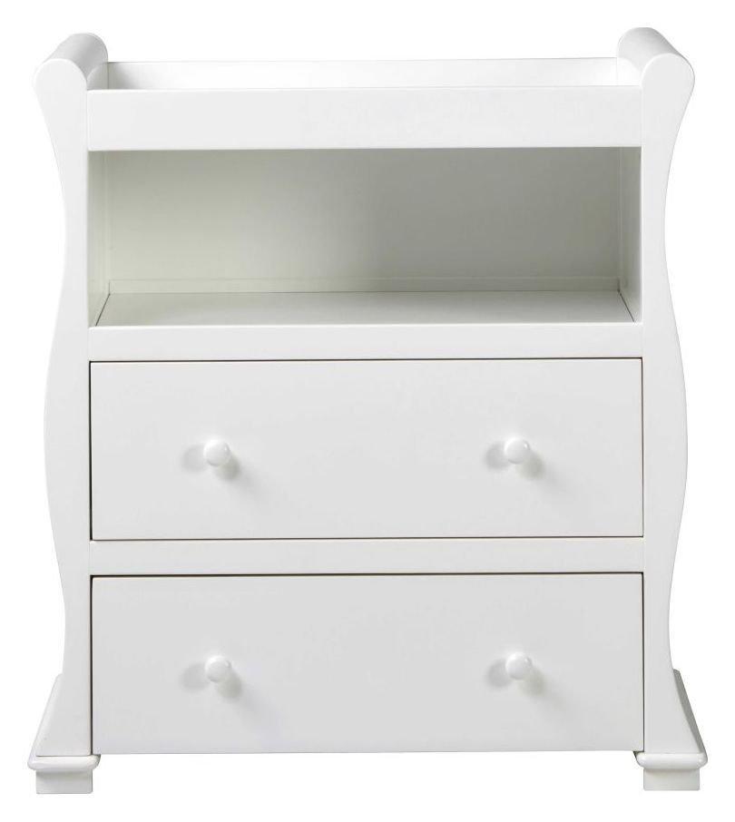 Alaska Nursery Dresser - White