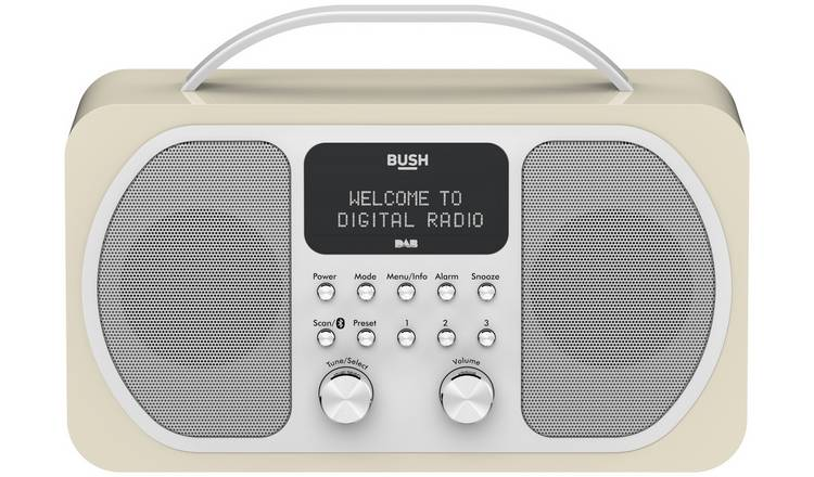 Bush Bluetooth DAB Radio - Cream