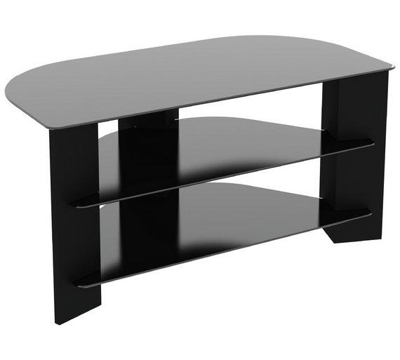 Buy Avf Wood Effect Up To 42 Inch Tv Corner Stand Black Tv