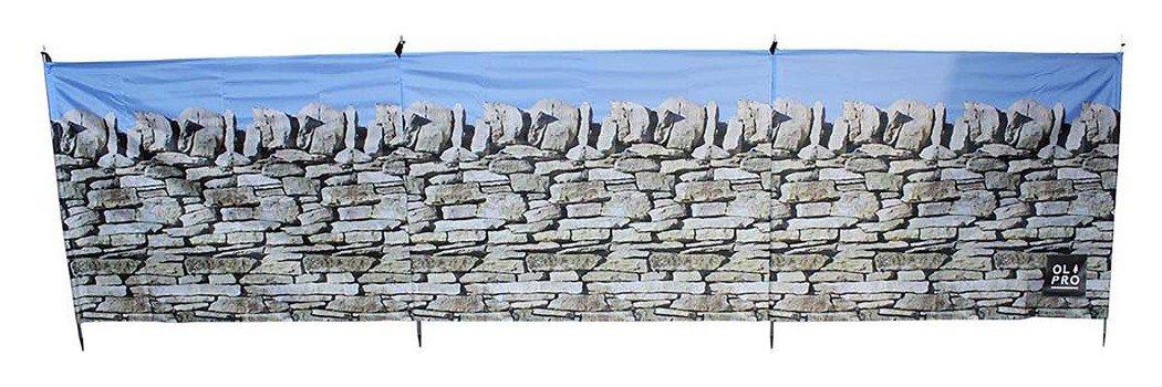Olpro Stone Wall 4 Pole Compact Windbreak