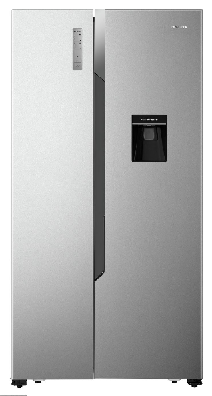 Fridgemaster MS91515DFF Freestanding A+ Rated American Fridge Freezer - Silver Best Price and Cheapest