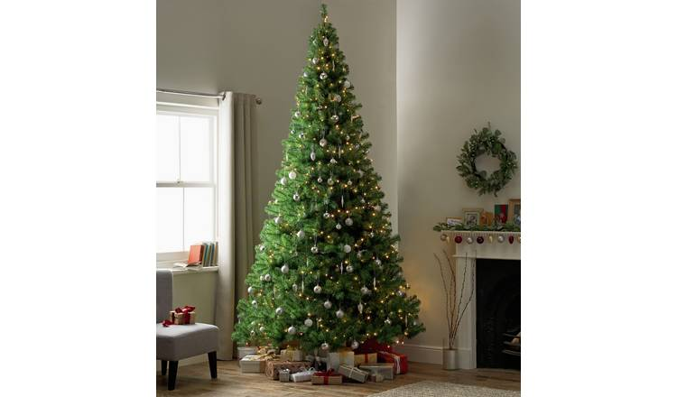 Christmas Trees Images.Buy Argos Home 10ft Christmas Tree Green Artificial Christmas Trees Argos