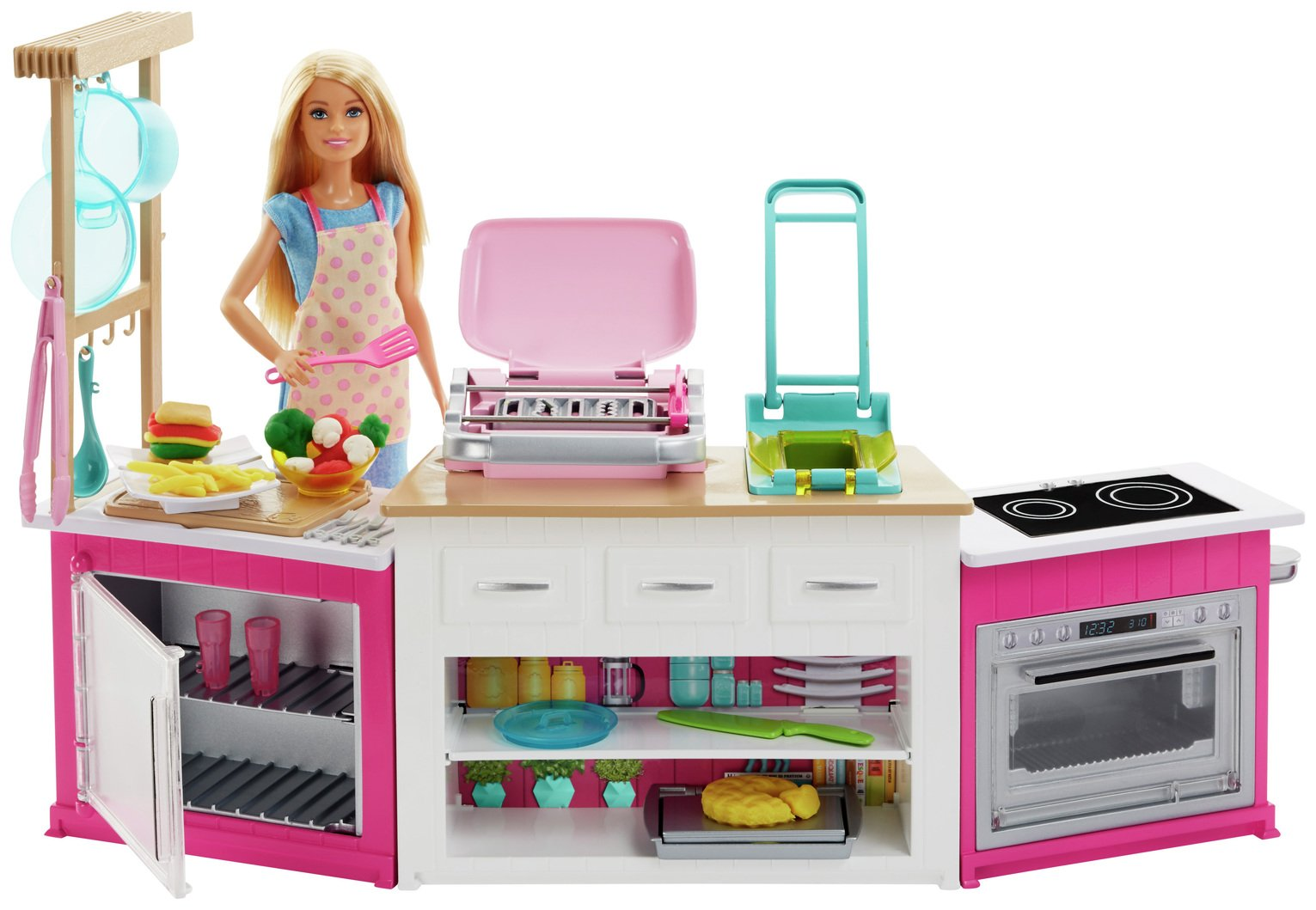 Barbie Ultimate Kitchen Playset with Doll
