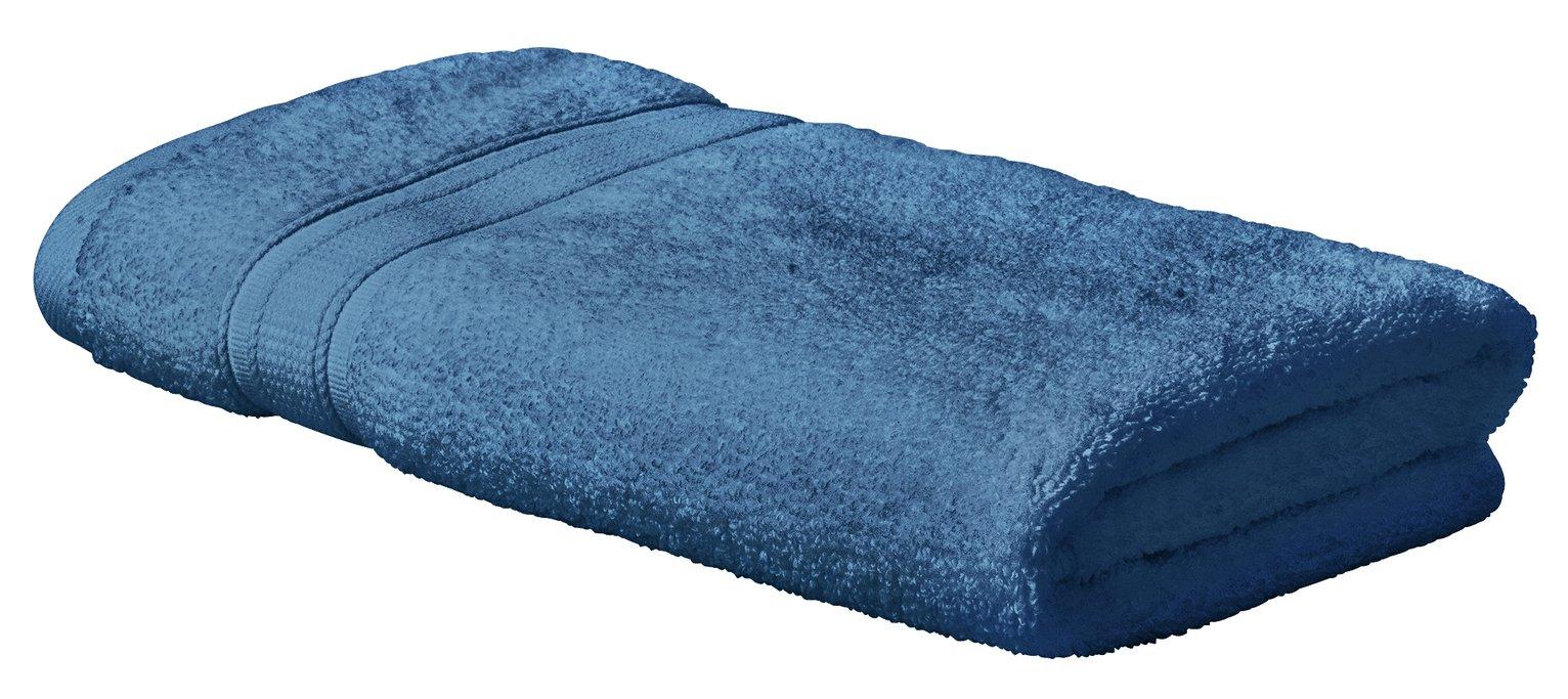 Argos Home Super Soft Hand Towel - Denim Blue