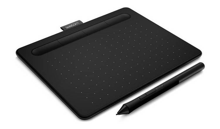 Buy Wacom Intuos S - Black | Graphic tablets and accessories | Argos