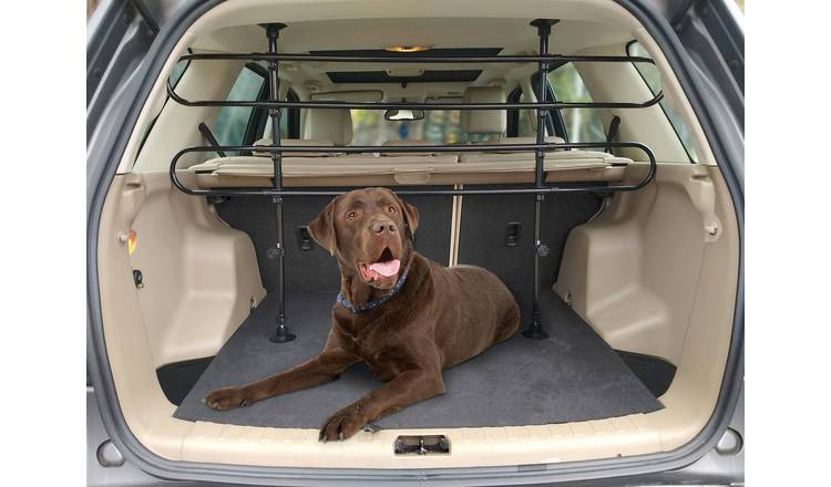 Streetwize Heavy-Duty Adjustable Dog Guard