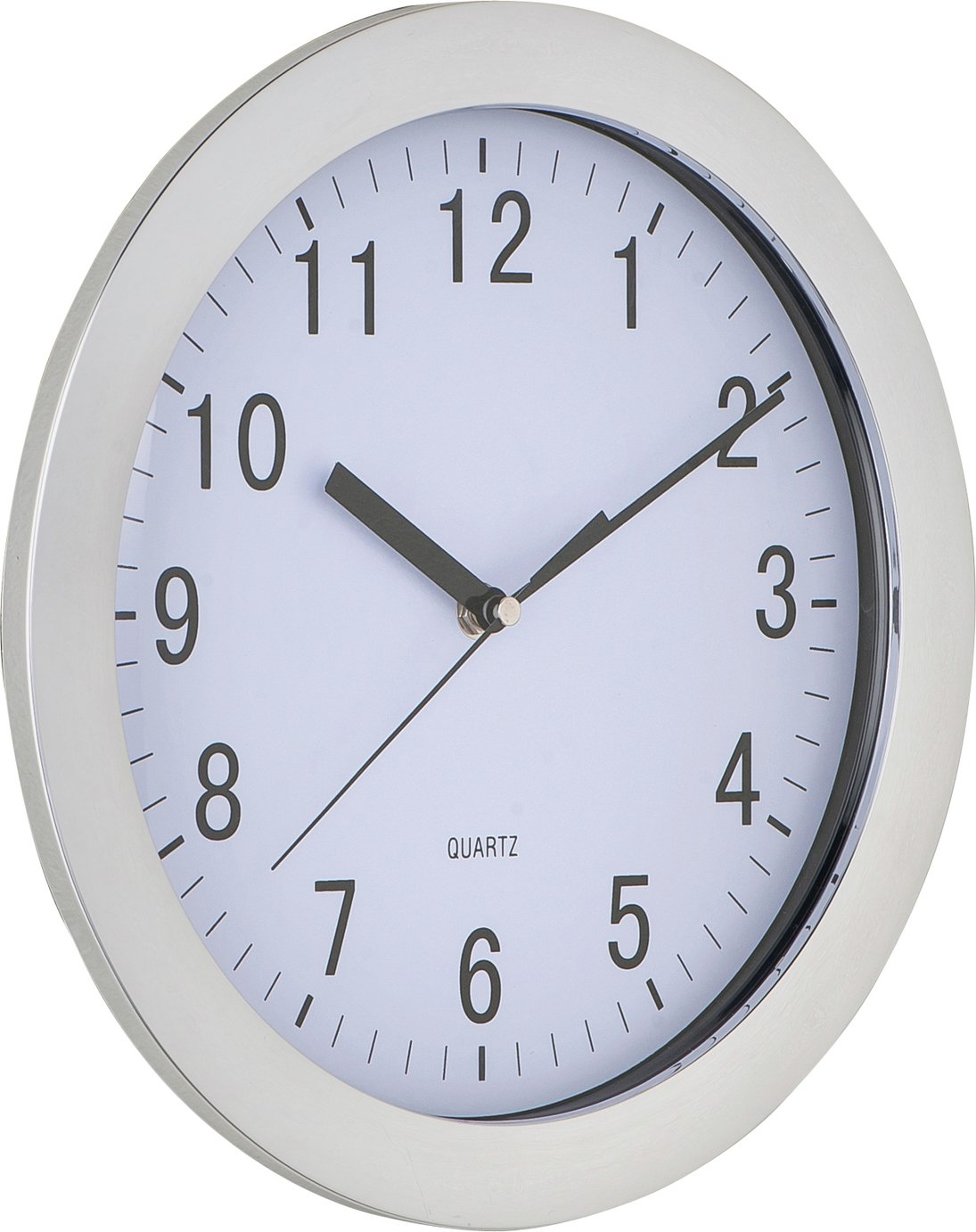 Argos Home Wall Clock - Chrome