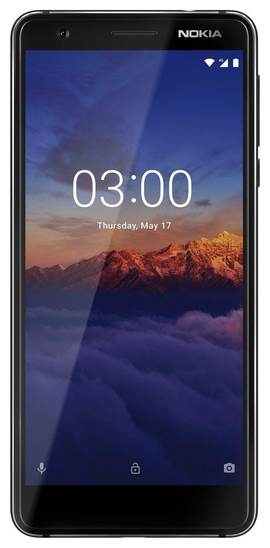 SIM Free Nokia 3.1 16GB Mobile Phone - Black/Silver