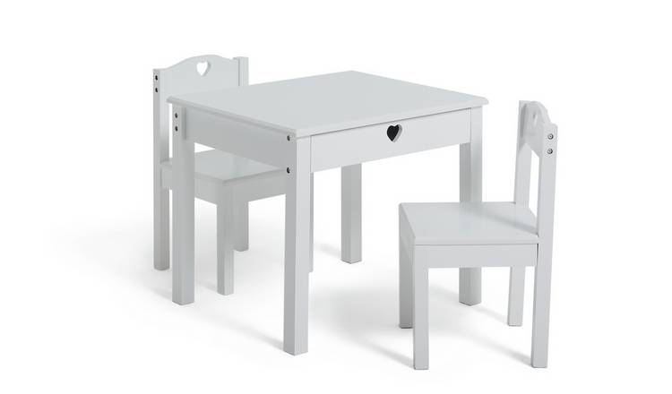 Buy Argos Home Mia White Table 2 Chairs Kids Tables And Chairs Argos